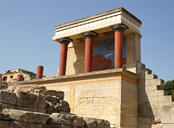 Knossos, The Bull Chamber