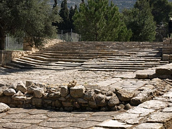 Knossos: The theatral area