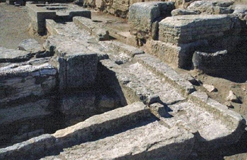 Knossos, the drainage system