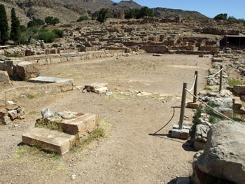 Zakros: The Central Court