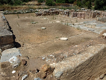 Zakros: The Hall of Ceremonies